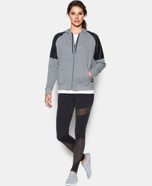 New Arrival  Women's UA Favorite French Terry Warm Up Hoodie  1 Color $84.99