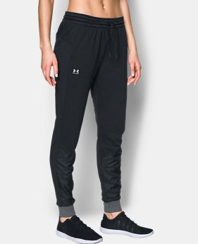 Women's UA Favorite French Terry Warm Up Pants  1 Color $29.24 to $36.74
