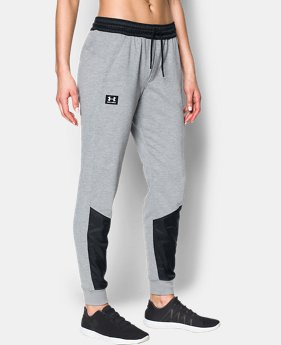 New Arrival  Women's UA Favorite French Terry Warm Up Pant  2 Colors $79.99
