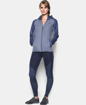 New Arrival  Women's UA ColdGear® Infrared Fleece Full Zip  1 Color $114.99