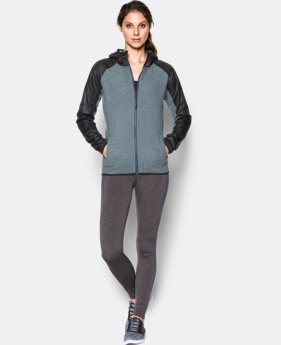 Women's UA ColdGear® Infrared Survivor Fleece Full Zip   $74.99