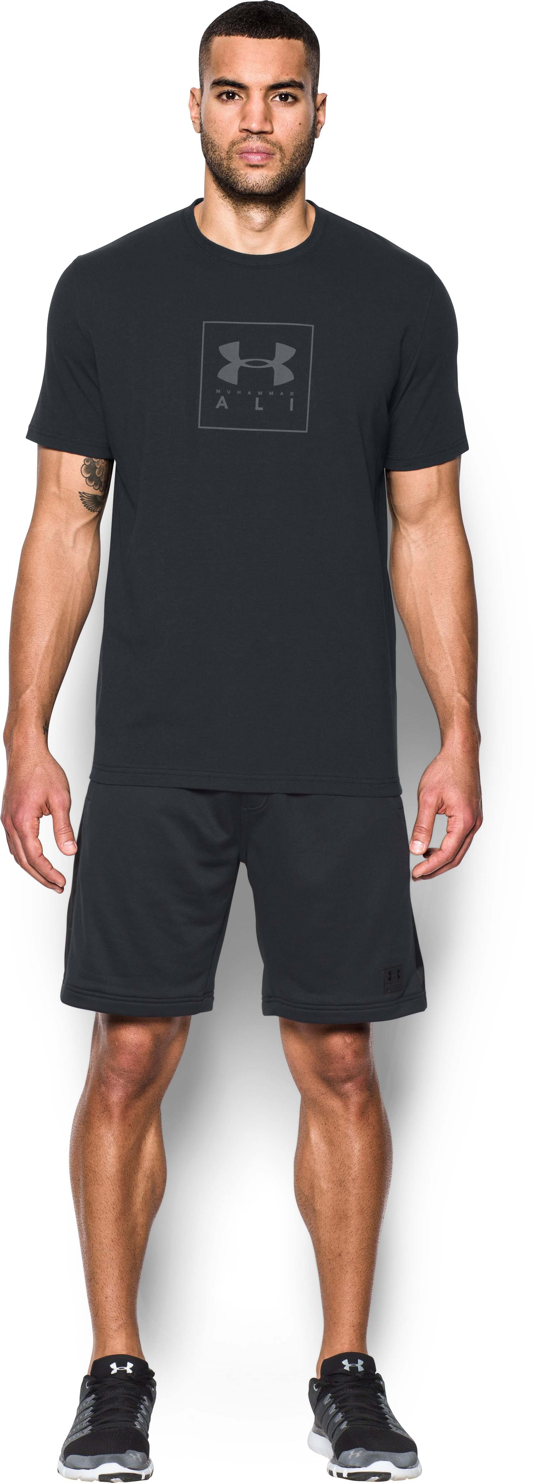 Men's UA x Ali Block Logo T-Shirt, Black