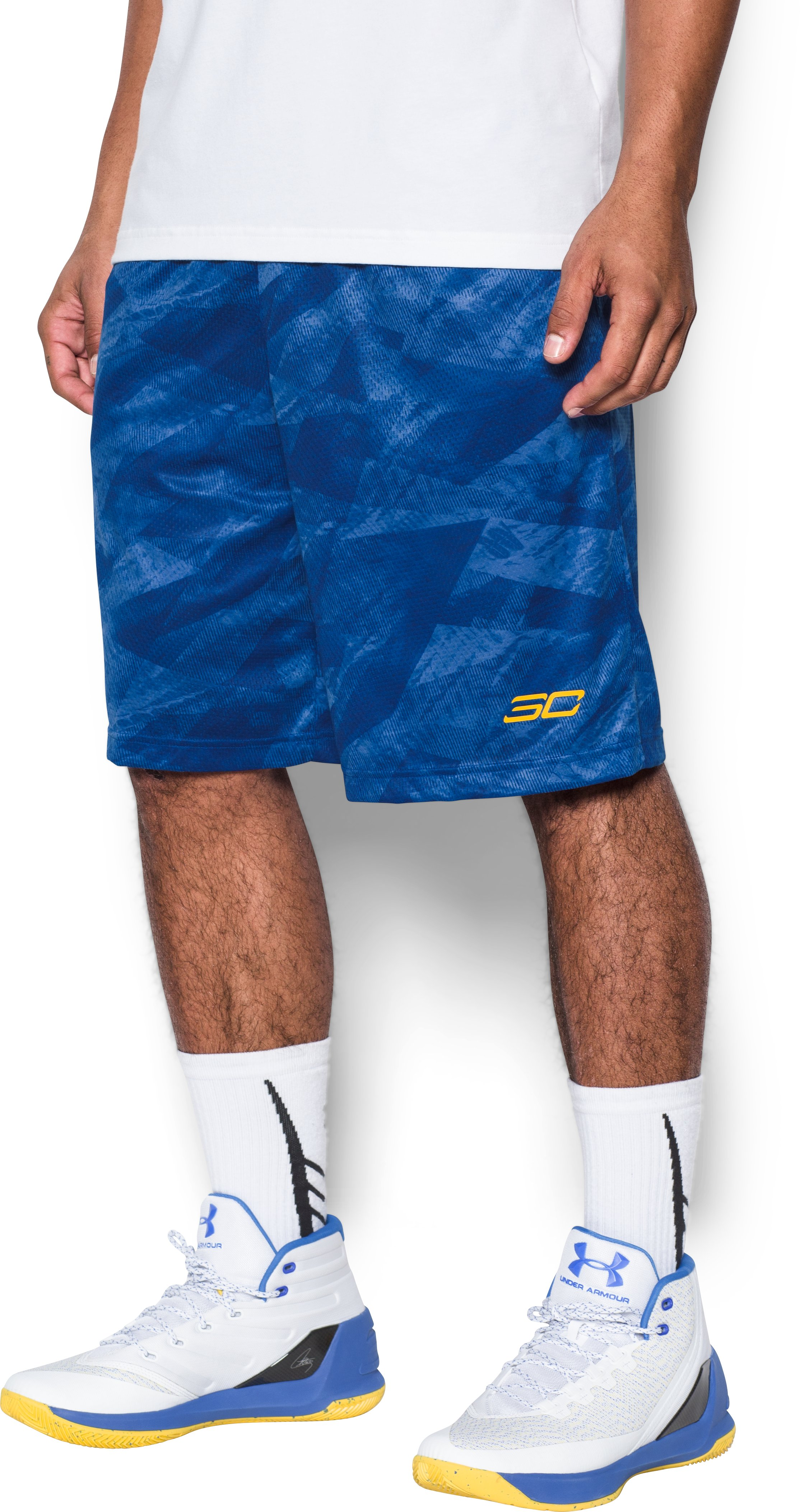 Men's SC30 Aero Wave Printed Shorts, Royal