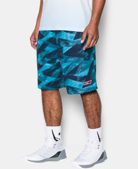 Men's SC30 Aero Wave Printed Shorts  1 Color $22.49