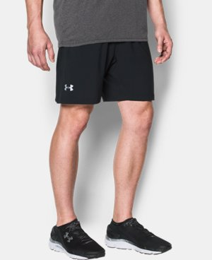 New Arrival Men's UA Launch 2-in-1 Shorts  1 Color $44.99