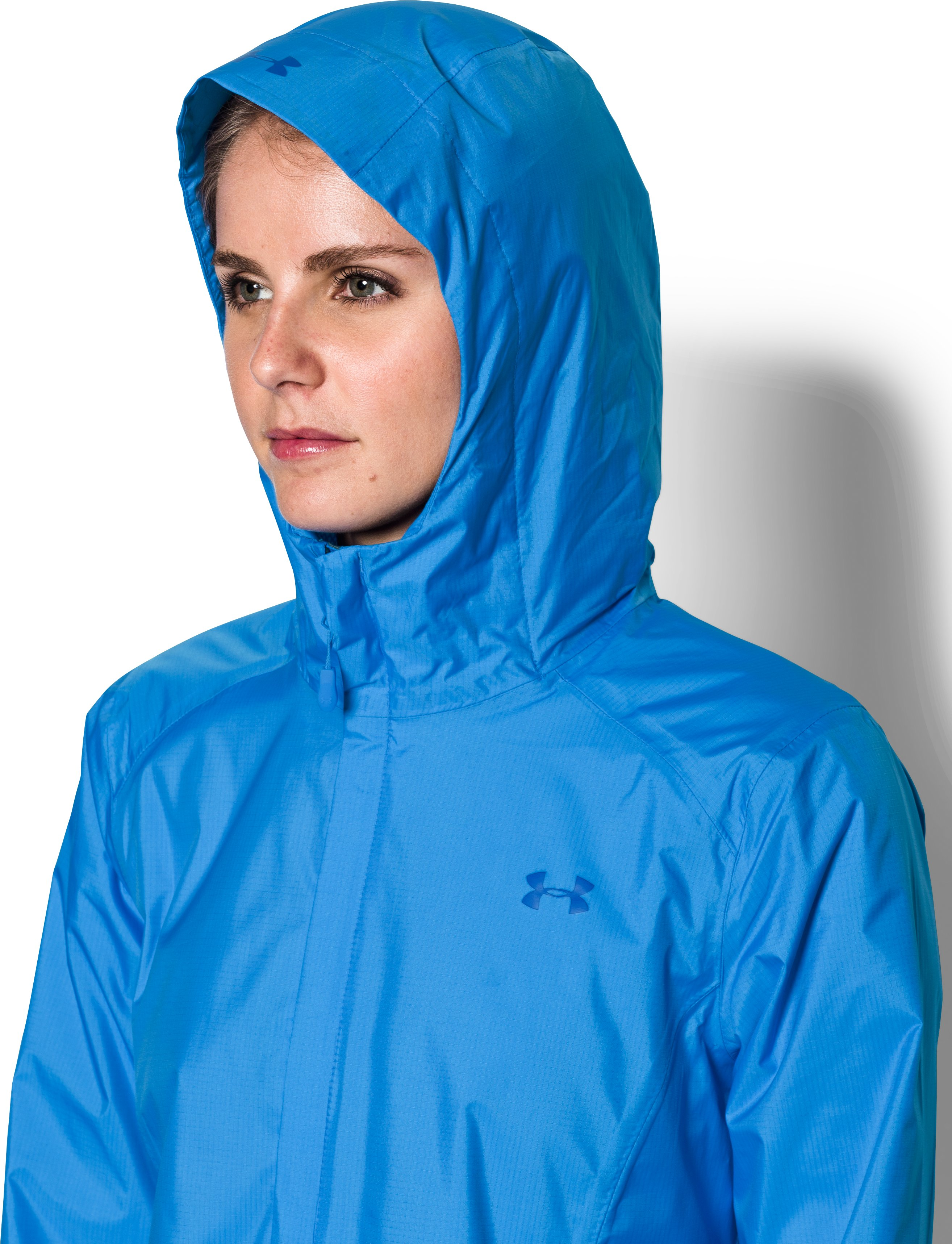 Women's UA Bora Jacket, MAKO BLUE