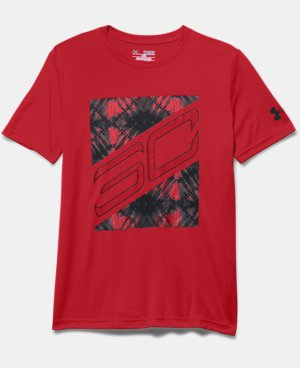 Boys' SC30 Big Block T-Shirt  1 Color $24.99