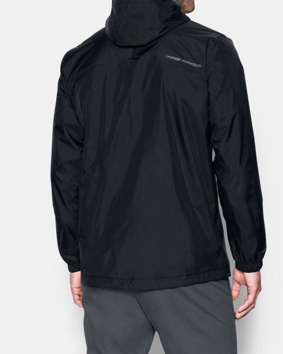 Men's UA Storm Bora Jacket, Black, pdpMainDesktop image number 2