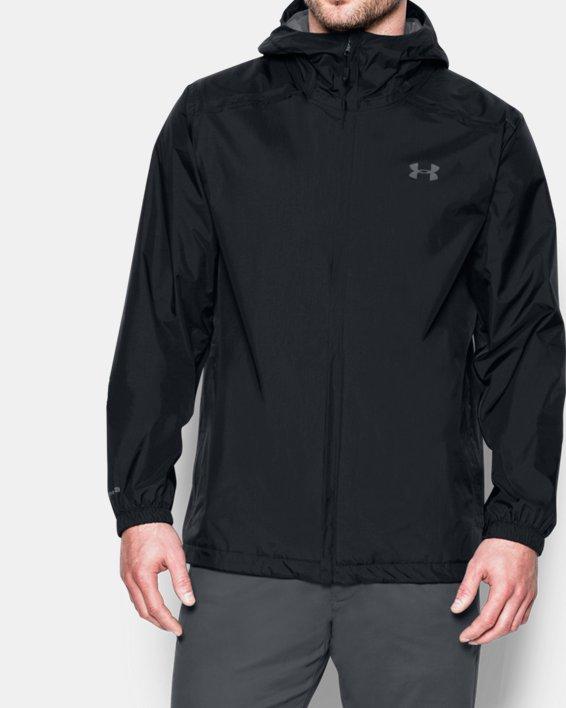 Men's UA Storm Bora Jacket, Black, pdpMainDesktop image number 0