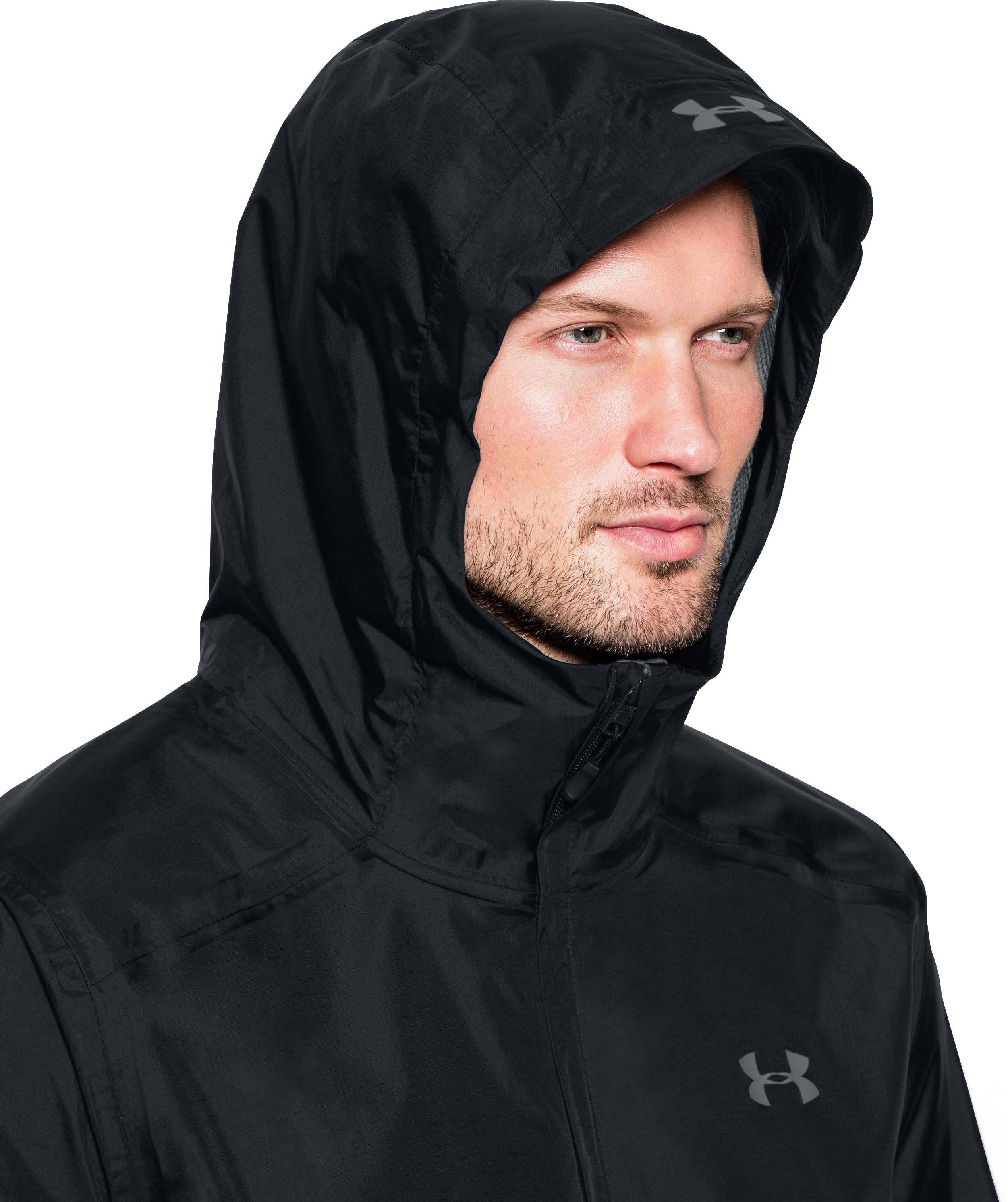 Men's UA Storm Bora Jacket, Black , undefined
