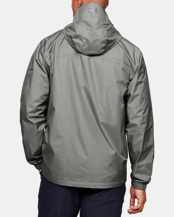 Men's UA Storm Bora Jacket, Green, pdpMainDesktop image number 2