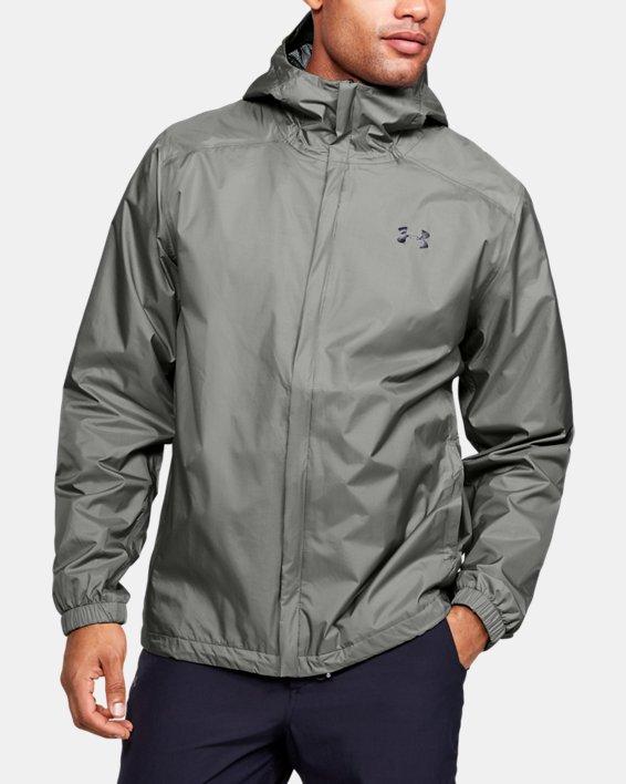 Men's UA Storm Bora Jacket, Green, pdpMainDesktop image number 0
