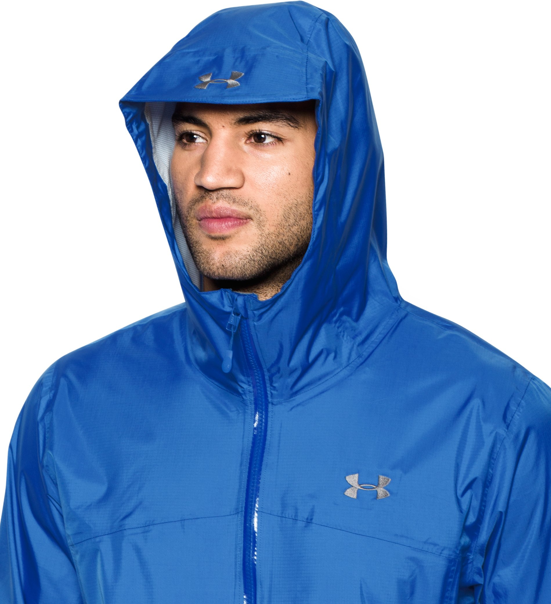 Men's UA Surge Waterproof Jacket, BLUE MARKER, undefined