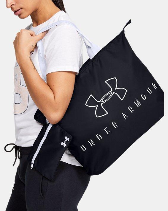 Women's UA Big Wordmark Tote 2.0, Black, pdpMainDesktop image number 0