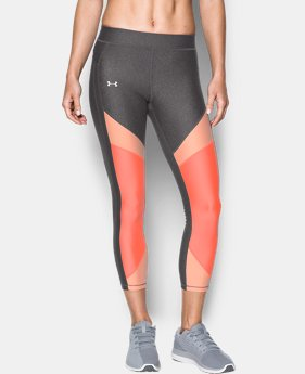 Best Seller Women's UA HeatGear® Color Blocked Ankle Crop  1 Color $34.99 to $37.99