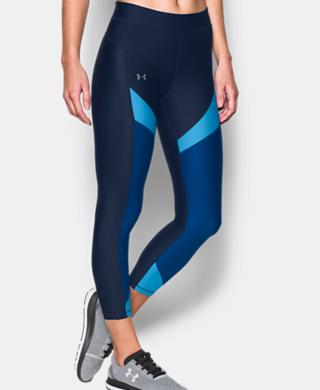 女子UA HeatGear® Color Blocked Ankle Crop緊身褲