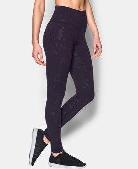 New to Outlet Women's UA Mirror Hi-Rise Printed Leg  1 Color $50.99 to $63.99