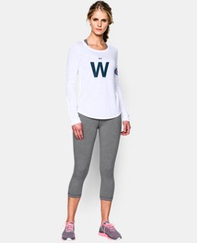 Women's UA Chicago Cubs Long Sleeve  1  Color Available $29.99