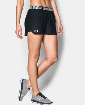 Best Seller Women's UA Play Up 2.0 Shorts  4  Colors Available $24.99