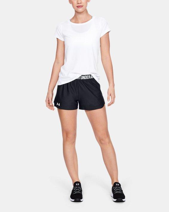 Women's UA Play Up 2.0 Shorts, Black, pdpMainDesktop image number 1