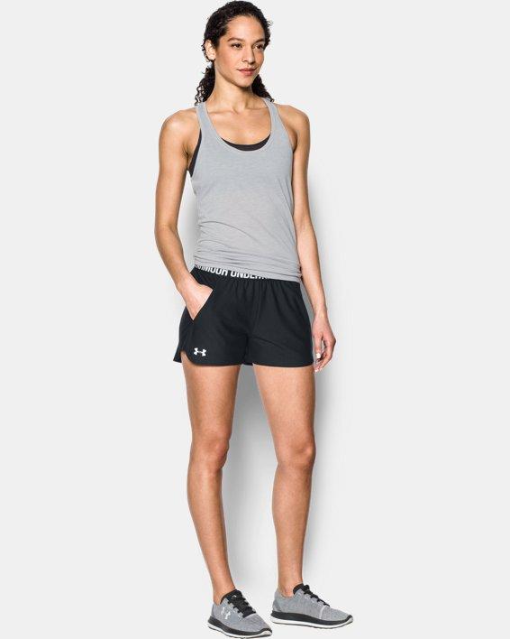 Women's UA Play Up 2.0 Shorts, Black, pdpMainDesktop image number 0