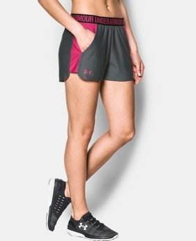 Best Seller Women's UA Play Up 2.0 Shorts  2  Colors Available $18.74 to $18.99