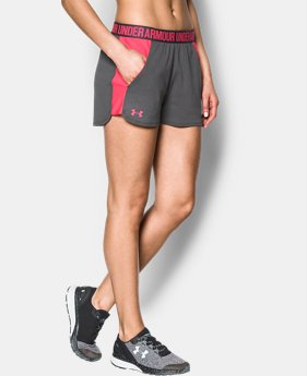 Best Seller Women's UA Play Up 2.0 Shorts  5 Colors $17.99 to $18.75