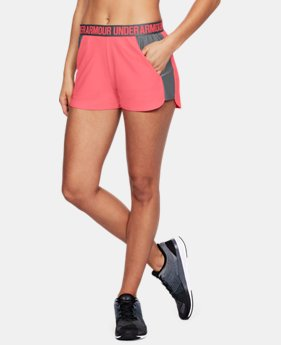 Best Seller Women's UA Play Up 2.0 Shorts  1  Color Available $12.5 to $18.74
