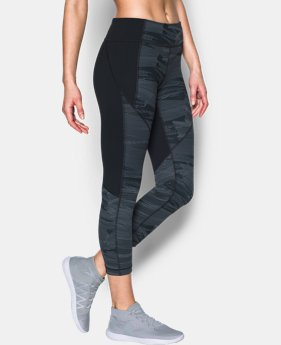 Women's UA Mirror Printed Crop  1 Color $44.99 to $59.99