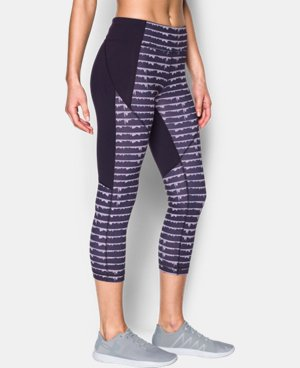 New Arrival Women's UA Mirror Printed Crop  1 Color $69.99