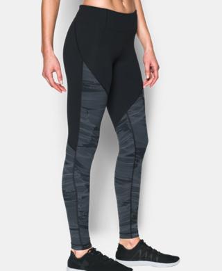 Women's UA Mirror Color Block Print Legging