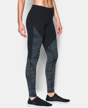 Women's UA Mirror Color Block Print Legging  2 Colors $41.99 to $52.99