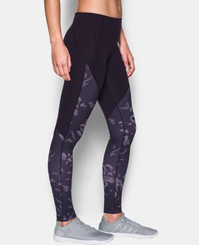 Women's UA Mirror Color Block Print Legging  5 Colors $31.49 to $39.74
