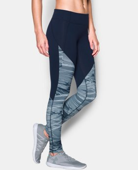 Women's UA Mirror Color Block Print Legging  1 Color $31.49 to $39.74