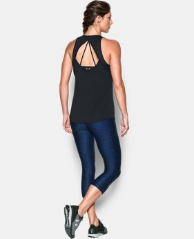 Women's UA Fly-By Fitted Tank  1 Color $18.74