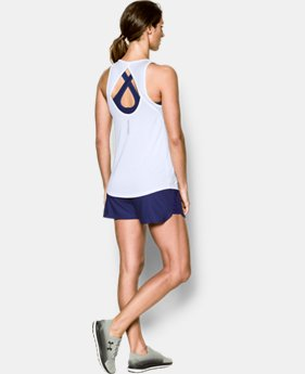 Women's UA Fly-By Fitted Tank  2 Colors $23.99