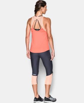 Women's UA Fly-By Fitted Tank  3 Colors $20.99 to $26.99