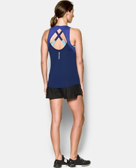 Women's UA Fly-By Fitted Tank  3 Colors $24.99 to $26.99