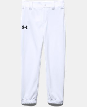 New Arrival Boys' Pre-School UA Baseball Pants  1 Color $18.99
