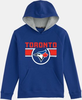 Boys' Toronto Blue Jays UA Rival Fleece Hoodie