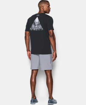 New Arrival Men's UA Run Secret Society T-Shirt   1 Color $29.99