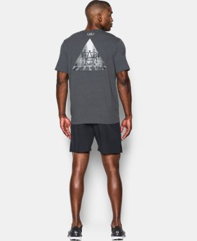 New Arrival Men's UA Run Secret Society T-Shirt   1 Color $34.99