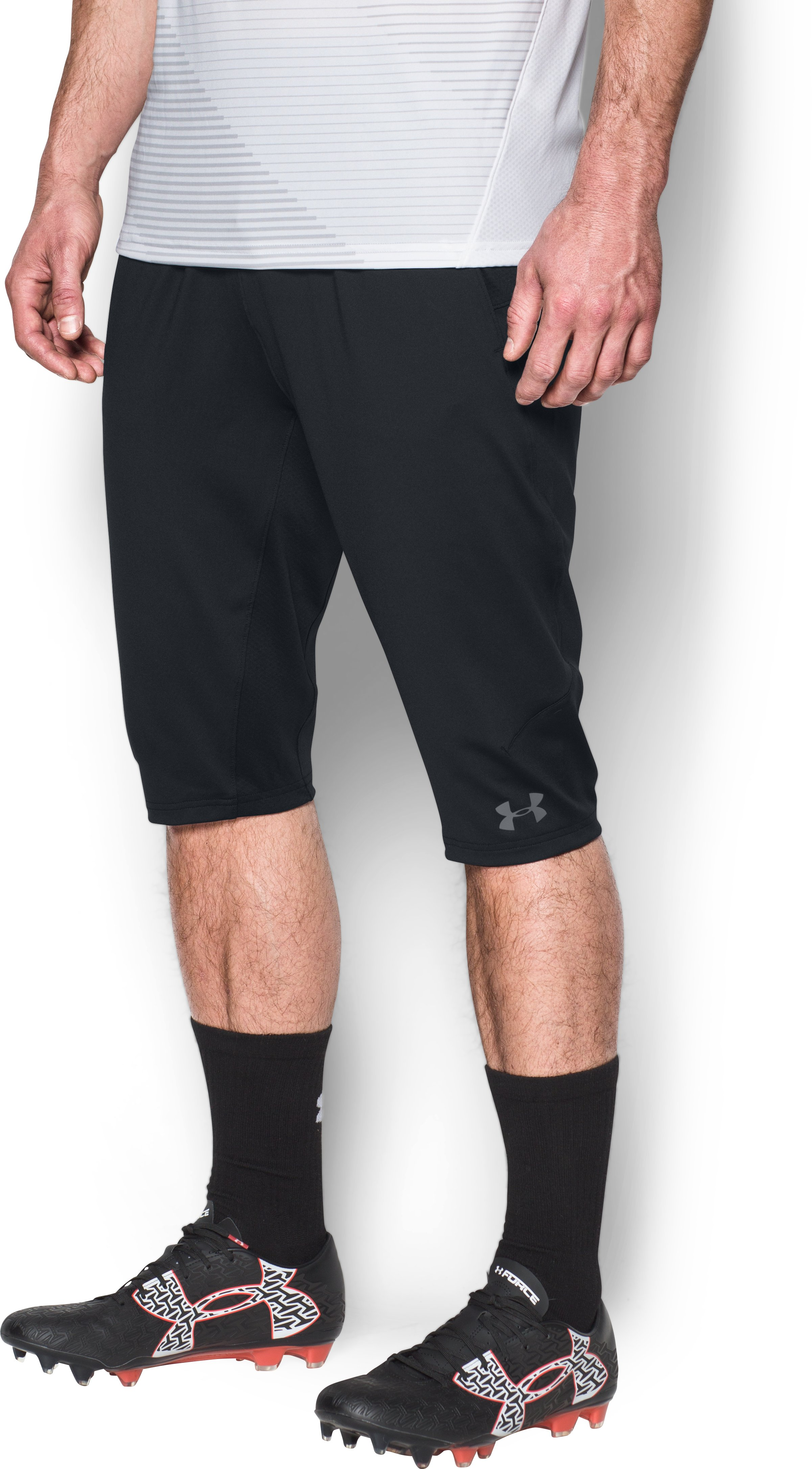 Men's UA Challenger ¾ Pants, Black ,