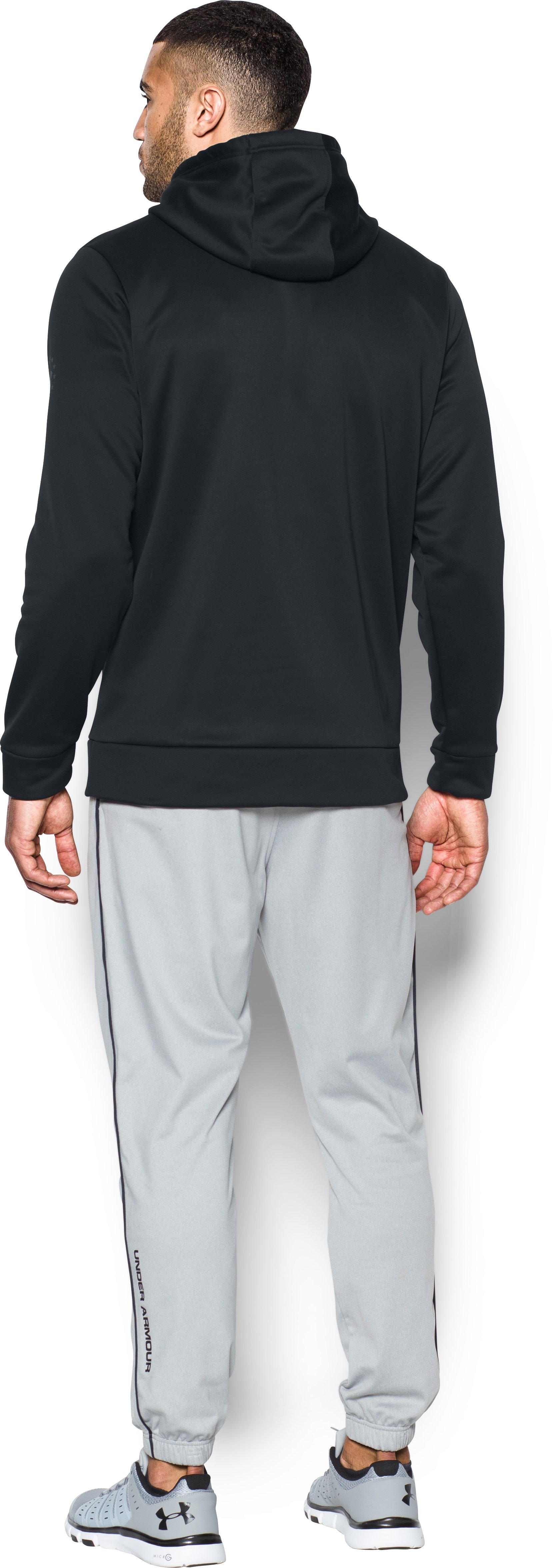 Men's UA Freedom Storm BFL Hoodie, Black , Back