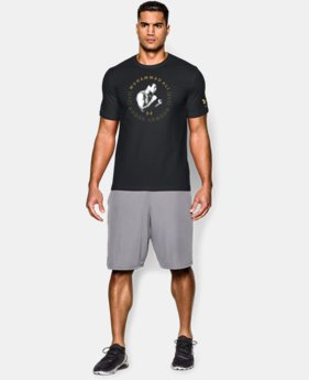 New Arrival Men's UA x Muhammad Ali Will Over Skill T-Shirt  LIMITED TIME: FREE SHIPPING 1 Color $34.99