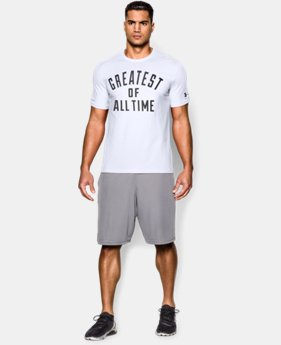 Best Seller Men's UA x Muhammad Ali G.O.A.T. T-Shirt LIMITED TIME: FREE SHIPPING 1 Color $34.99
