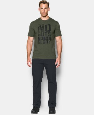 New Arrival Men's UA No Guts T-Shirt  1 Color $24.99