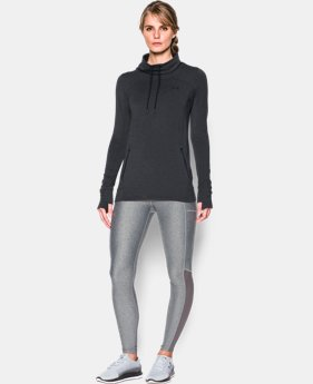 Women's UA Featherweight Fleece Slouchy Popover  6 Colors $69.99