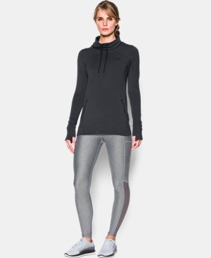 Women's UA Featherweight Fleece Slouchy Popover  4 Colors $69.99