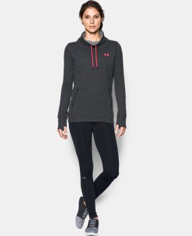 New Arrival  Women's UA Featherweight Fleece Slouchy Popover  3 Colors $69.99